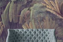 The Signature Wallpaper / Wallpaper is back from 70s with a vengeance! Agapi...