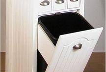 idea mueble cocina basura
