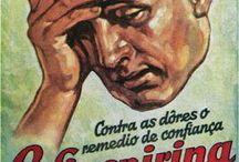 Old merchandising-propagandas Antigas