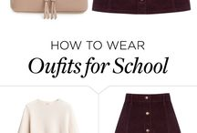 girly outfits for school