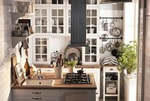 Kitchen / For the preparation of lovely meals