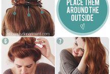 hair like