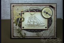 Stampin' Up! - The Open Sea Stamp Set / by Sandi MacIver  - Stampin Up - Stamping with Sandi