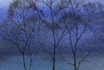 Au pied de mon arbre ... /  J'aime tous les arbres, dans les arts et dans la nature. / by Dominique LARDET