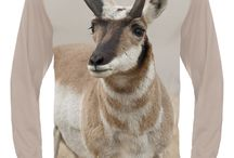 Pronghorn T-shirts / Show your passion & extraordinary fashion! Cover your body with cutting edge 3D Pronghorn t-shirt by HILLMAN®. Explore all 40+ iconic wildlife designs to show your passion and extraordinary fashion!