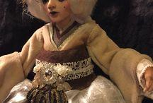 Bábjaim/ My Puppets / Art doll