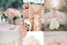 Blush, Nude and Champagne Wedding Dècor Ideas