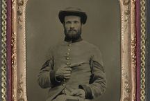 Ambrotype / Soldiers portrait