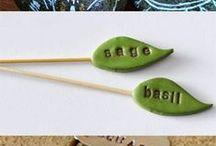 Plant markers / Kasvikyltit