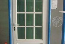 Puertas y ventanas de herrería