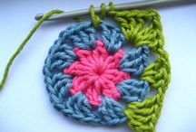 granny squares for slippers