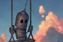 Steampunk / sci-fi