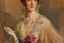 Philip Alexius de László / 1869/1937 pittore Ungherese conosciuto come ritrattista di personalità regali e aristocratiche.