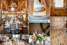 Barn Weddings / Love the casual prettiness of a barn wedding.