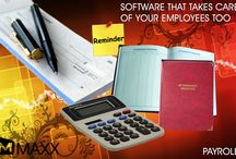 Payroll / Payroll Users can even maintain employees attendance with paid holidays and generate pay slips in clicks.Payroll is the sum of all the financial records of salaries... http://maxxerp.blogspot.in/2013/10/maxx-software-that-takes-care-of-your.html