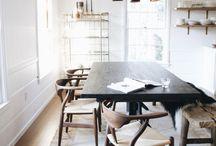 Spisebord & stole