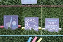 FREE Party Printables by D & P Celebrations / Free for personal non commercial use printables by D & P Celebrations LLC