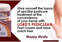 Make Your Heels Soft And Crack Free With Lord's Pediclean Footcream