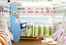 Habitaciones Náutico-Playera para niños / Ideas para de orar habitaciones con el tema playero