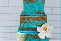 Bishop/Owens Wedding - Cakes / by Kyla Bishop