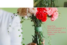 Floral materials and ideas