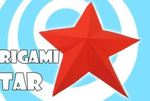 Origami Stars Tutorials / Learn how to make a paper origami stars. Stars decorations, Christmas Stars, Transformings stars, Paper Stars, and etc.