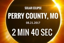 Total Solar Eclipse 2017 / In anticipation of the Great American Eclipse of 2017, Perry Co, MO has officially begun the exciting task of planning for this August 21, 2017 event. More info: perryvillemo.com/solareclipse2017
