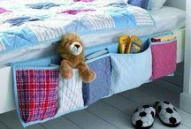 bed organizer