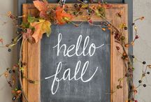 Fall / Fall crafts & recipes / by Tina D.