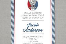 Eagle COH Invitations