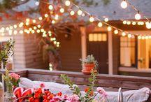 tuinen / gezelligheid / lounge / planten & bloemen