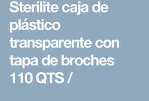 productos plasticos sterilite / Comercialización y venta de plásticos para el hogar y oficina