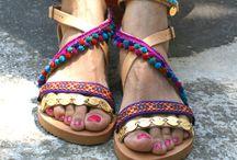 pom pom# gypsy# sandals