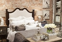 Paredes de ladrillos / Son un #must en la decoración, soñamos con paredes de ladrillos, desde el estilo industrial al más romántico.