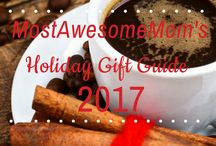 Holiday Gift Guide 2017 / Time for MostAwesomeMom's annual gift guide. This year it's all about the coffee addicts in our life.