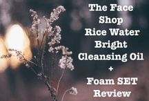 The Face Shop Rice Water Bright Cleansing Oil + Foam SET Review