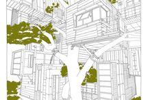 Dessins / Architecture utopique