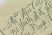 Caligrafía - calligraphy