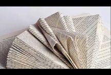 Bücher falten, basteln