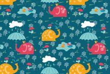 textile design by jodysart / Fabrics, my designs, Verarbeitungsbeispiele