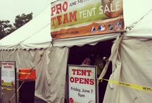 As It Happened-Pro Team Tent Sale 2013 Reading, PA / by VF Outlet