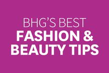 BHG's Best Fashion & Beauty Tips / Insightful fashion and beauty tips selected by our Pinning Pros! / by Better Homes and Gardens