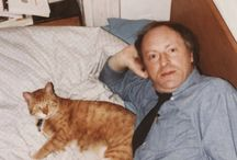 Writers and their pets - cats, dogs, etc. / Писатели и их питомцы