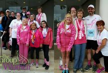 Komen Race For The Cure Events / Some of our TGFW Staff loves RUNNING! And LOVES Running for a Cure for Breast Cancer.