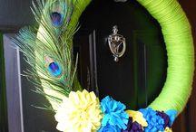 Craft - Wreath Idea's / Fun ideas for wreaths for every season of the year & Christmas