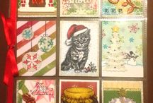Pocket Letters - Christmas/Winter / 9 little seasonal pockets all about winter, christmas and the holidays...