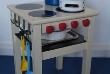 baby kitchen diy