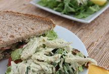 Chicken avocado salad / Yummm