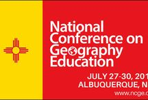 2017 National Conference on Geography Education / The conference will take place July 27-30, 2017 in Albuquerque, New Mexico. Whether you're a classroom teacher, university professor, administrator, preservice educator, geography expert or novice, the National Conference on Geography Education has something for you. Build your own professional learning experience and take part in a range of workshops, technology labs, field trips and social events while discovering the latest ideas, resources and research in geography education.