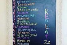 Alfabet workout